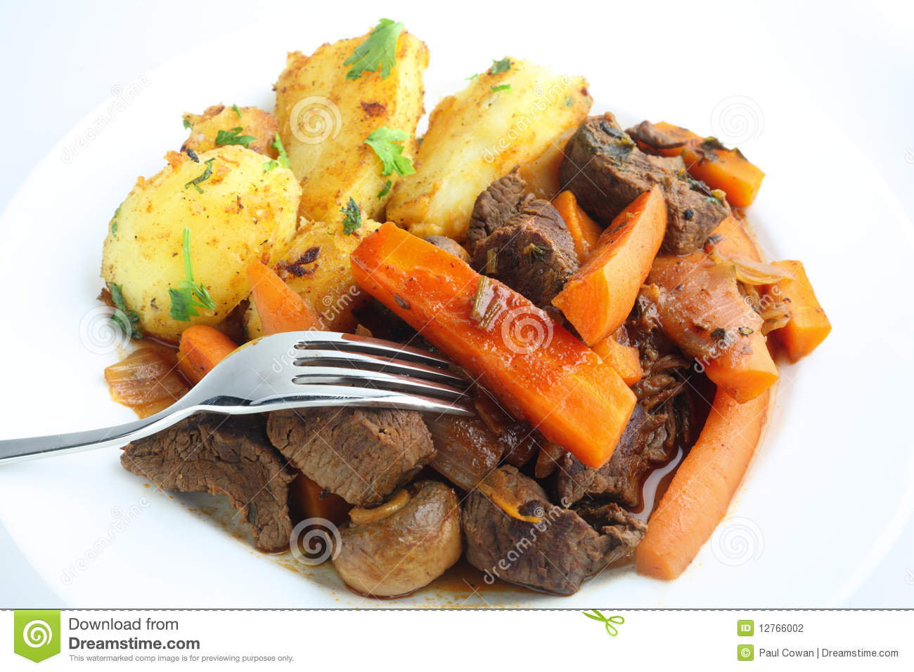 French style beef and carrot stew