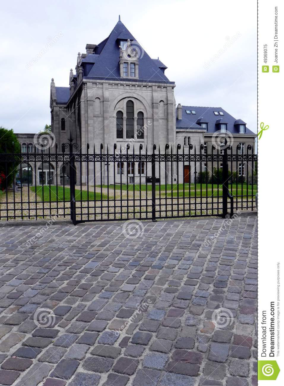 royalty free stock photo - Mansion Architectural Styles