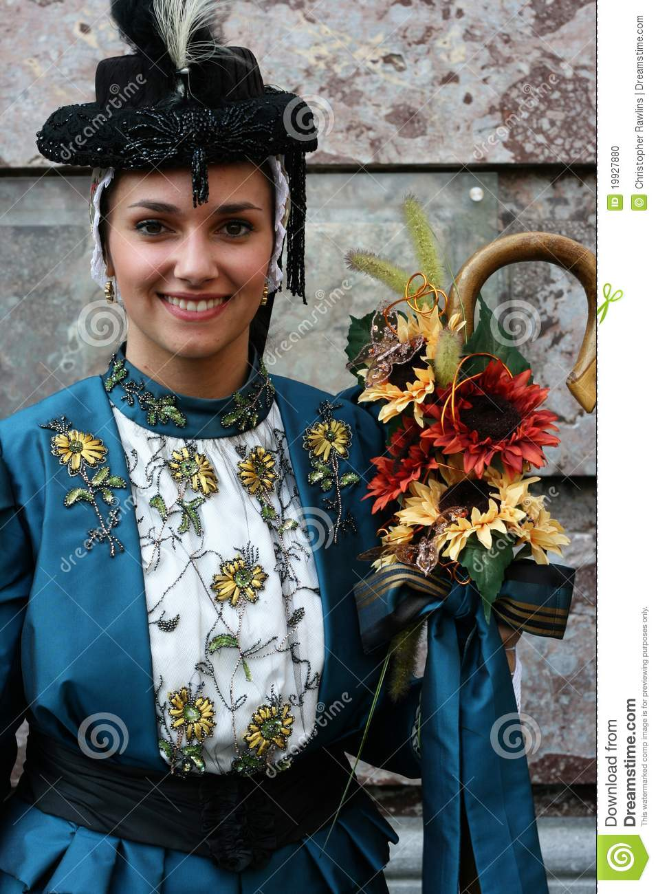 French Traditional Dancer
