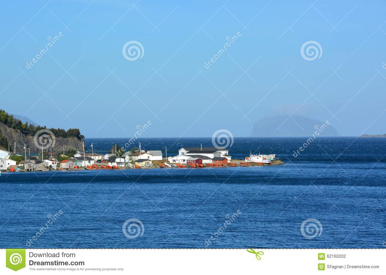 Frenchman's Cove, Newfoundland Stock Photo - Image of