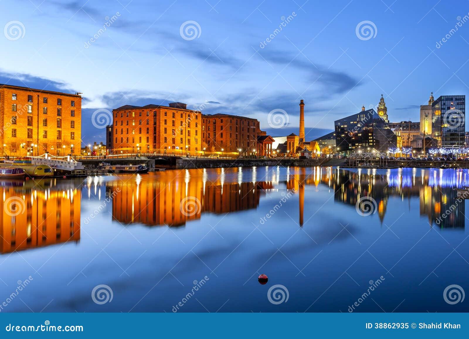 Frente del agua de Liverpool