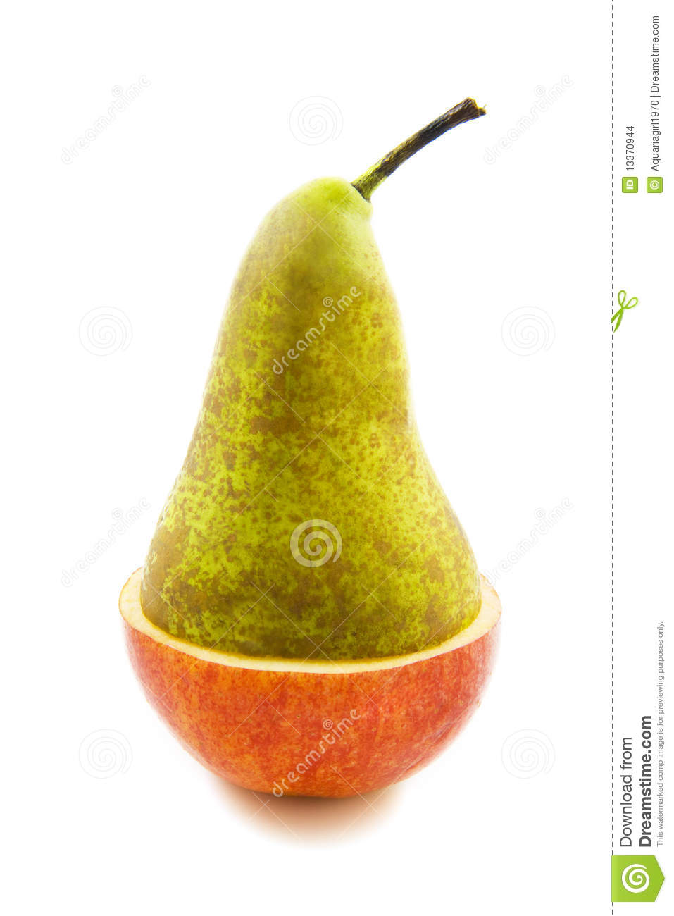 More similar stock images of ` Fresh apple pear `