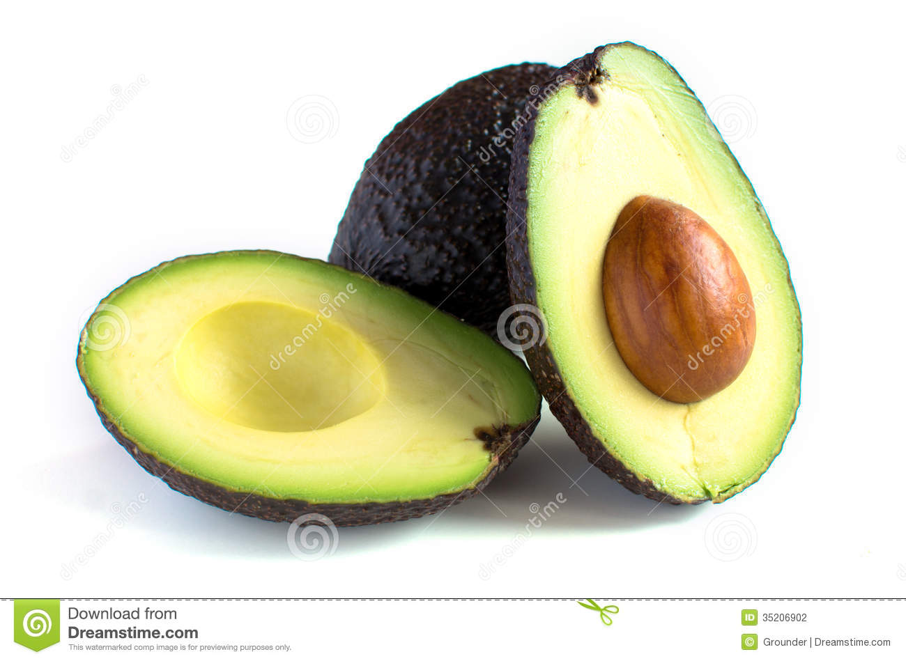 how to cut an avocado in half