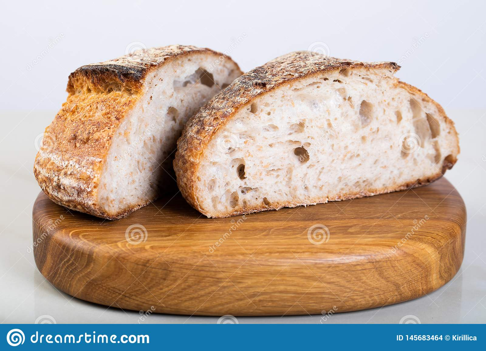 Fresh backed bread