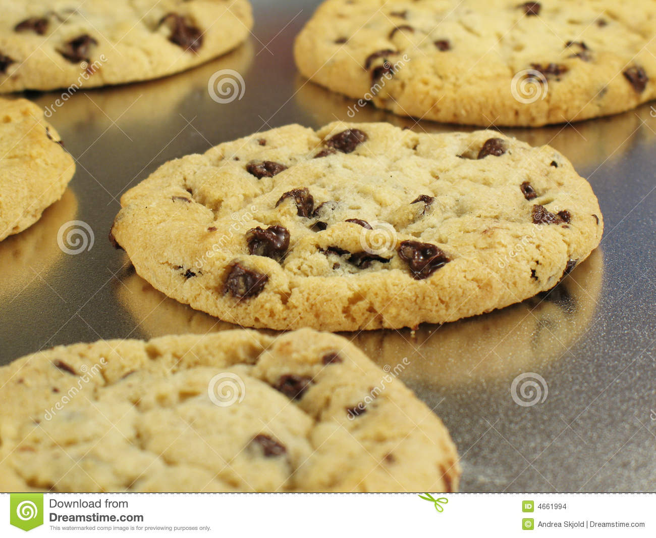 fresh baked cookies stock images image 4661994