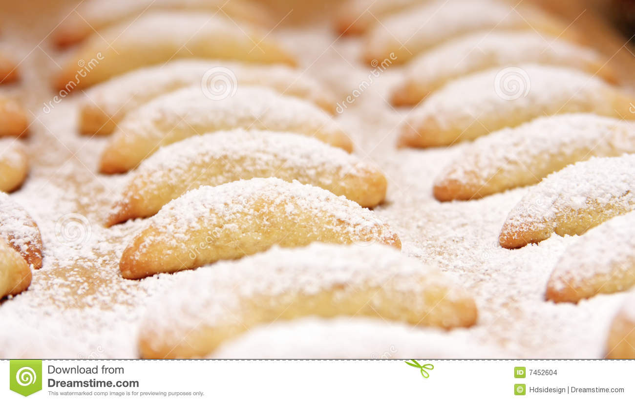 fresh baked cookies stock images image 7452604