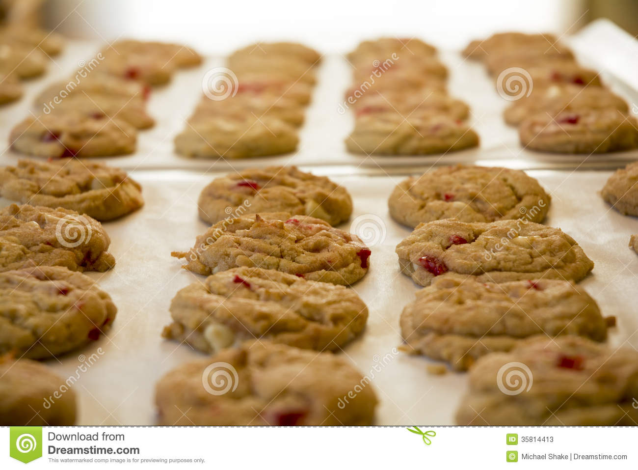 fresh baked cookies stock photos image 35814413