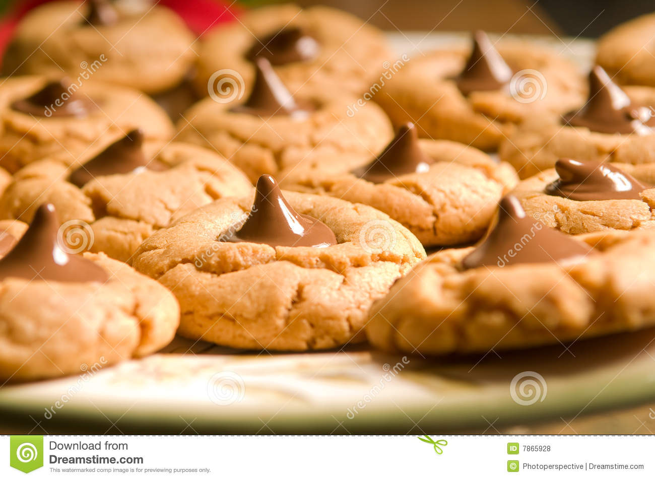 fresh baked gooey cookies royalty free stock photos