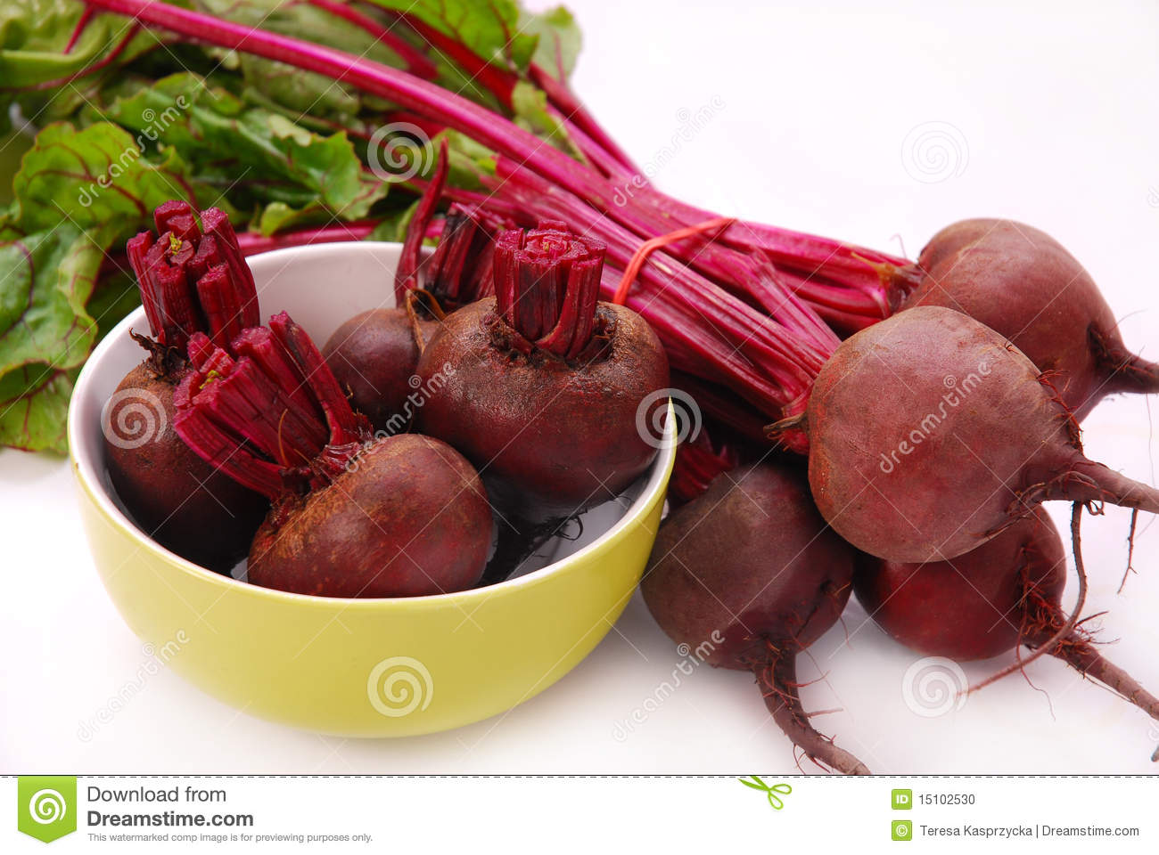 Fresh Beets Stock Image 15158245