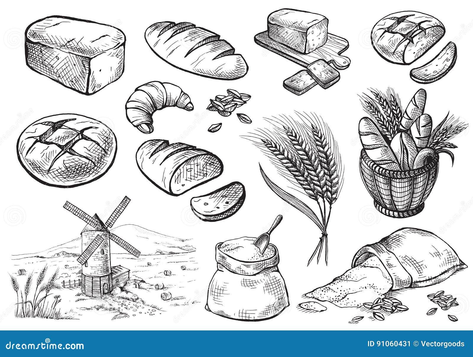 Fresh Bread set