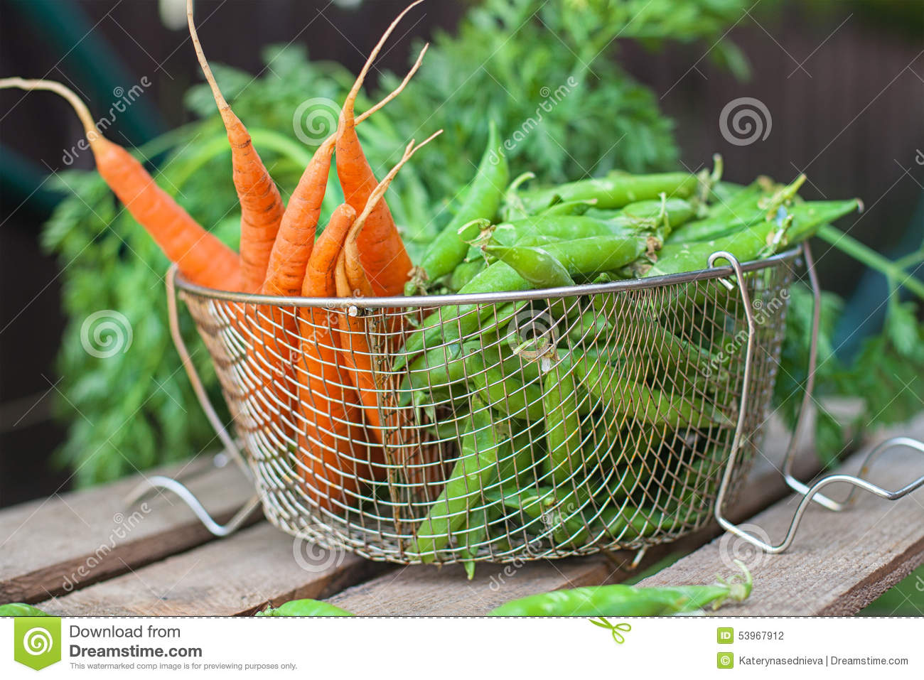 how to cook fresh peas and carrots