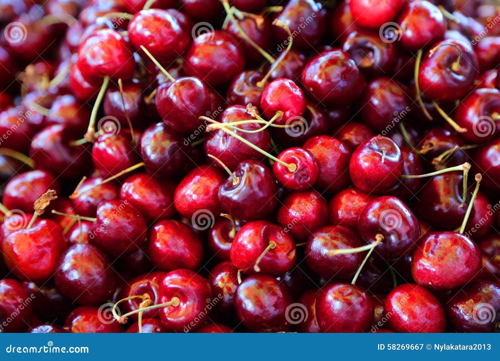 Cherries Stock Photo - Image: 58269667