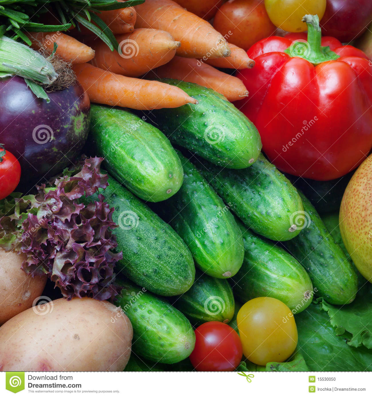 Pictures of Whole Fresh Vegetables