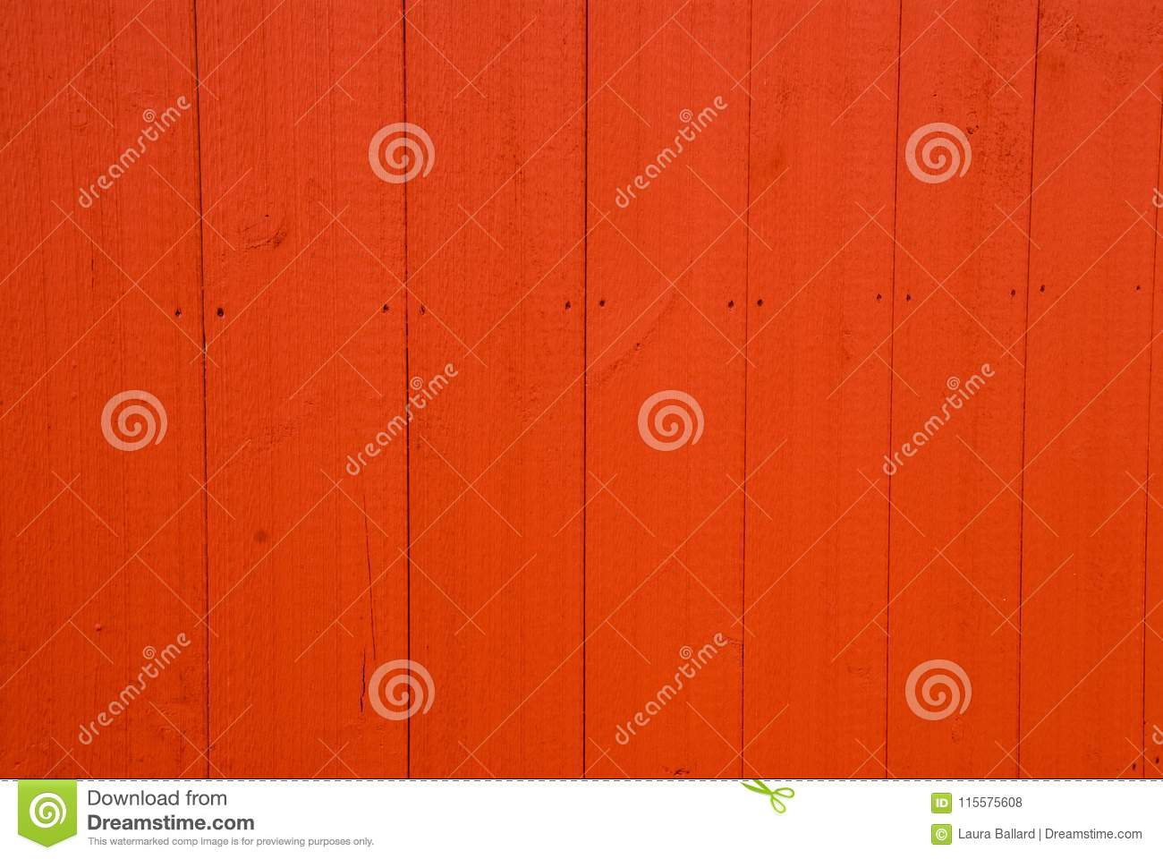 Red Painted Wooden Barn Door Textured Background Stock Photo Image
