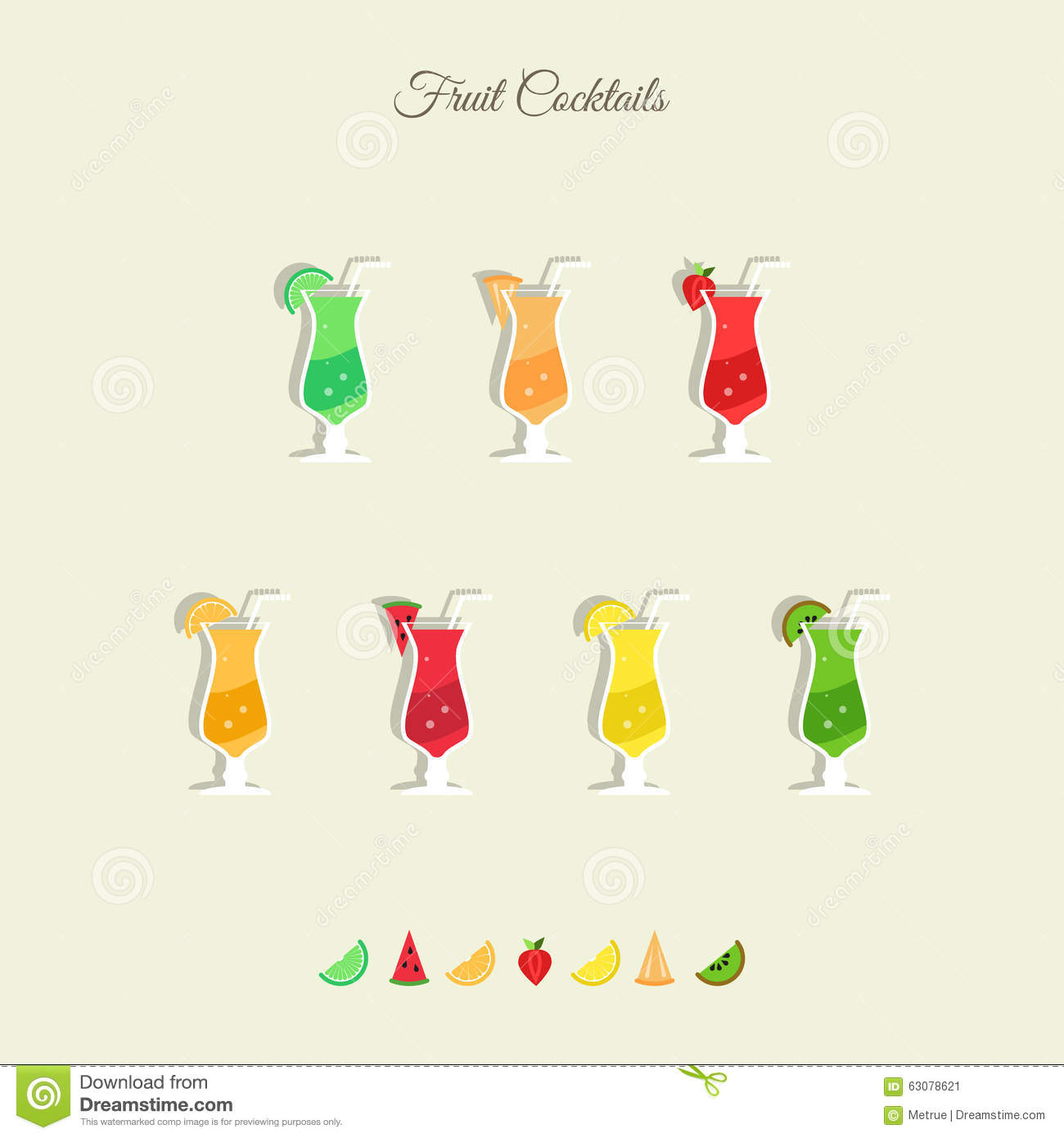 how to make fresh fruit cocktail juice