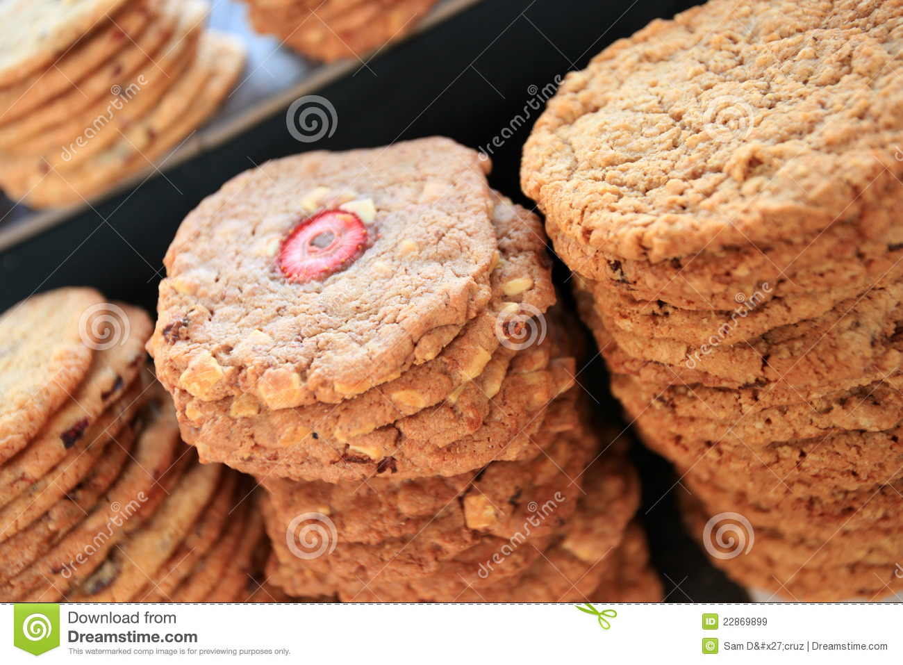 fresh cookies royalty free stock images image 22869899