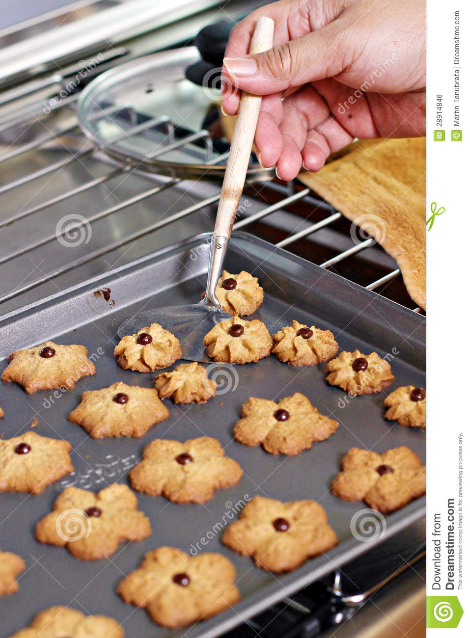 fresh cookies royalty free stock image image 28914846