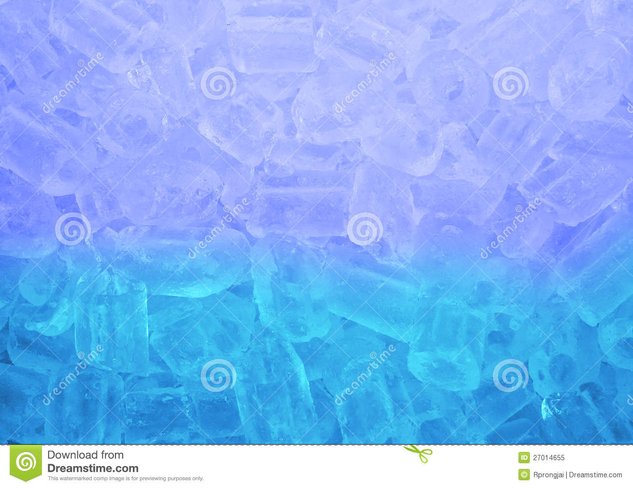 Fresh Cool Ice Cube Royalty Free Stock Photo