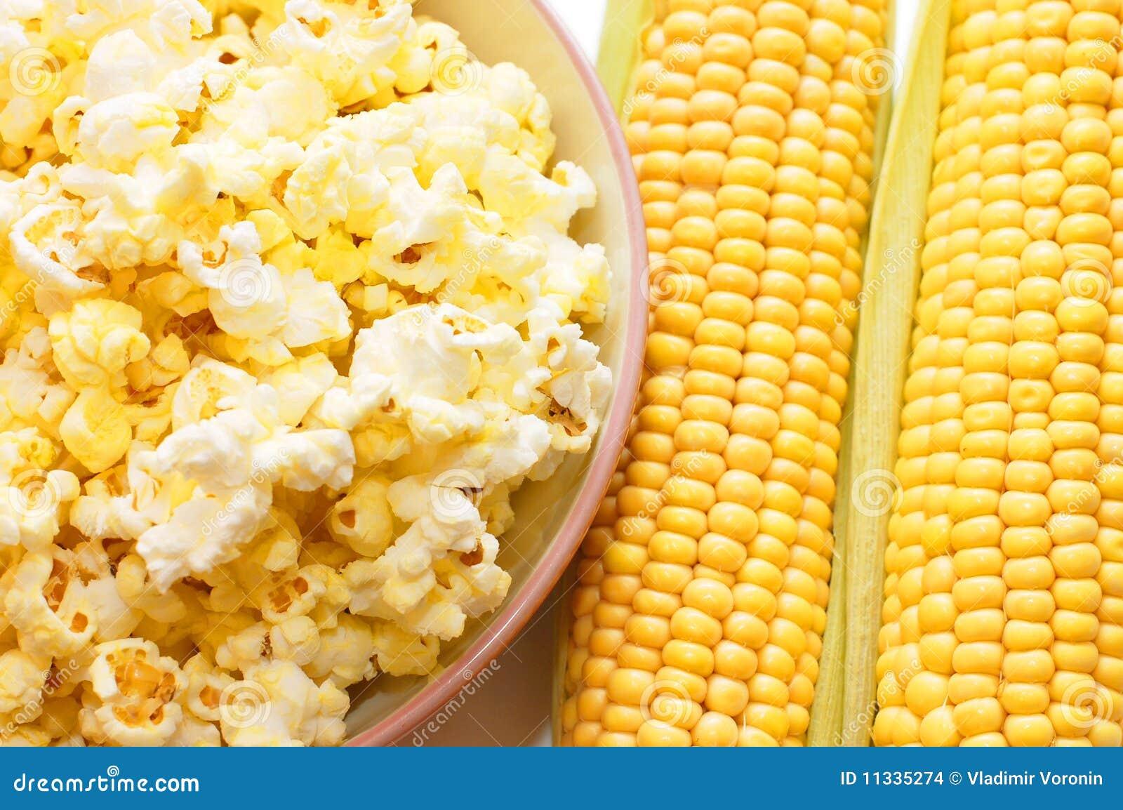 Fresh Corn And Popcorn Stock Images - Image: 11335274
