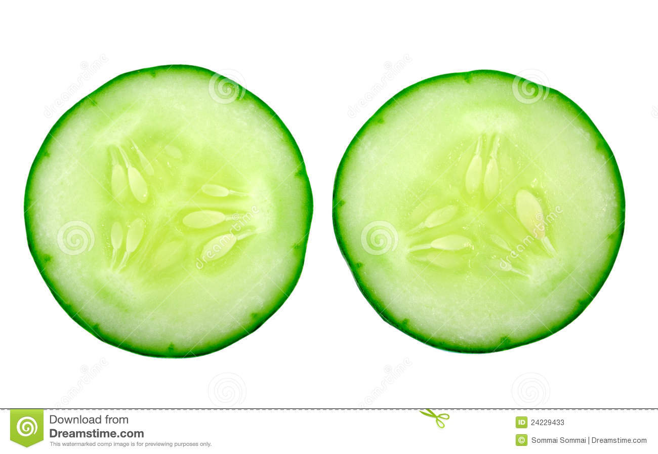 Fresh Cucumber Slice Stock Photos - Image: 24229433