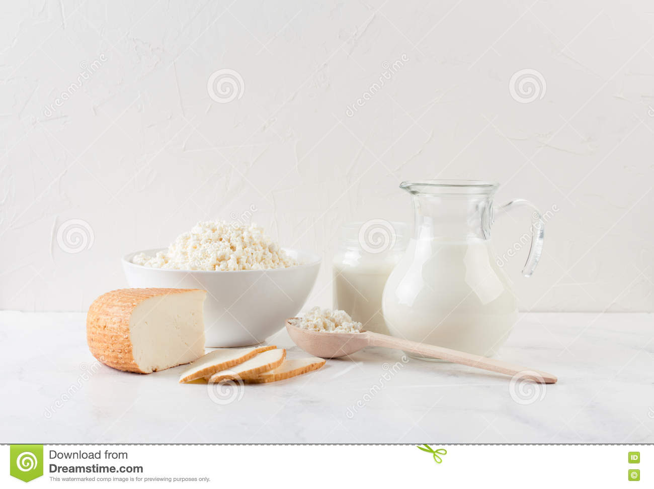 Fresh Dairy Products Stock Photo - Image: 72900787