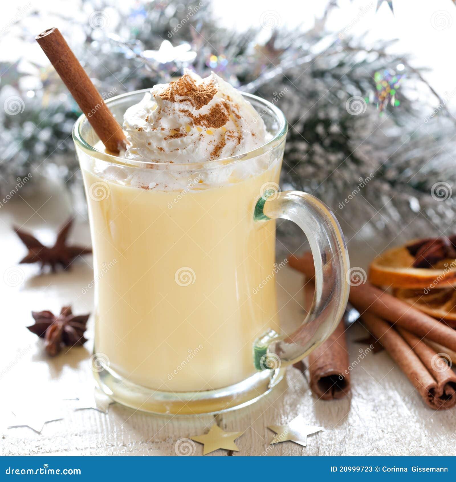 Fresh Eggnog Stock Image. Image Of Alcohol, Drink, Winter