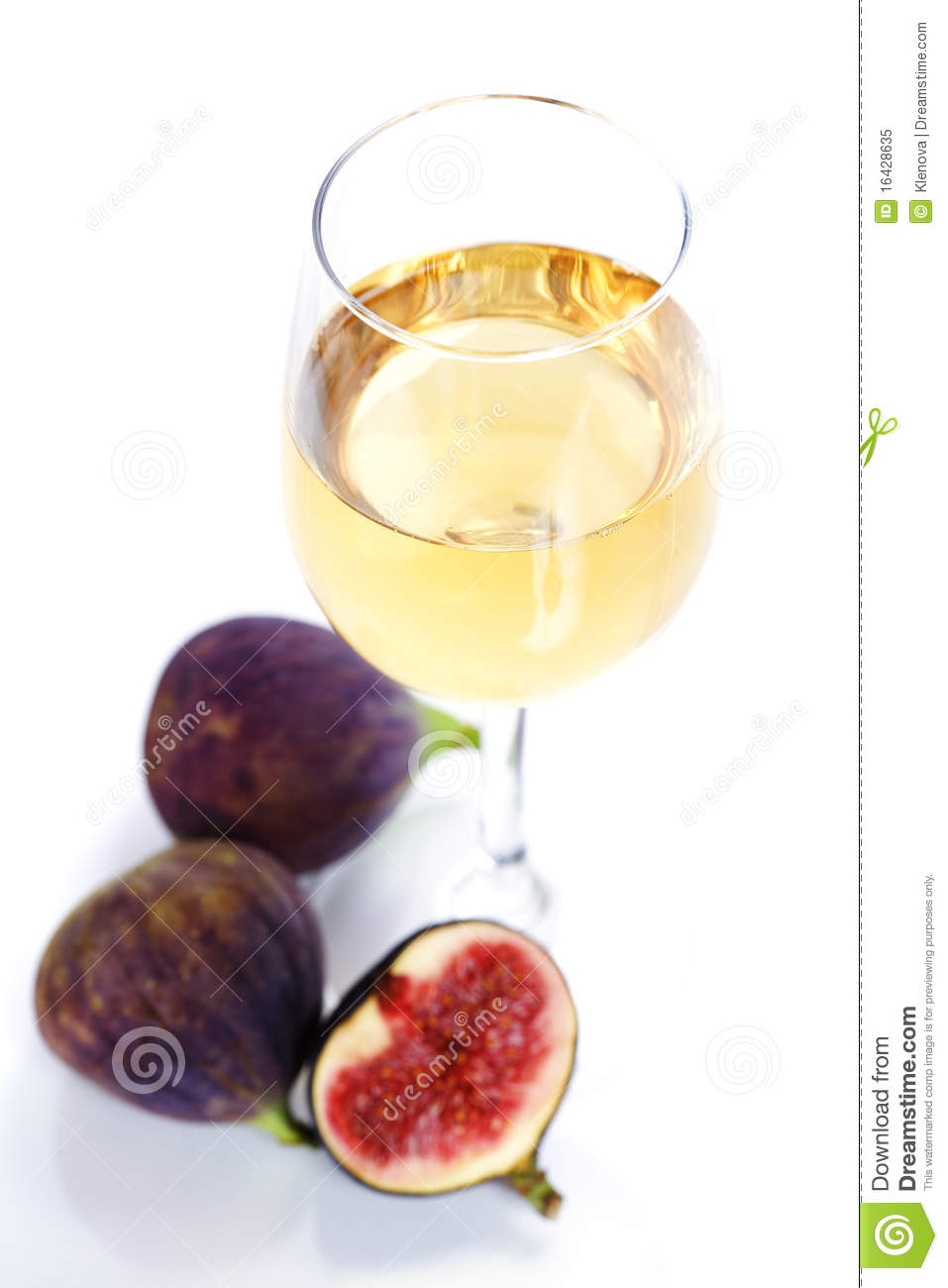 Fresh Figs And Wine Royalty Free Stock Photo - Image: 16428635