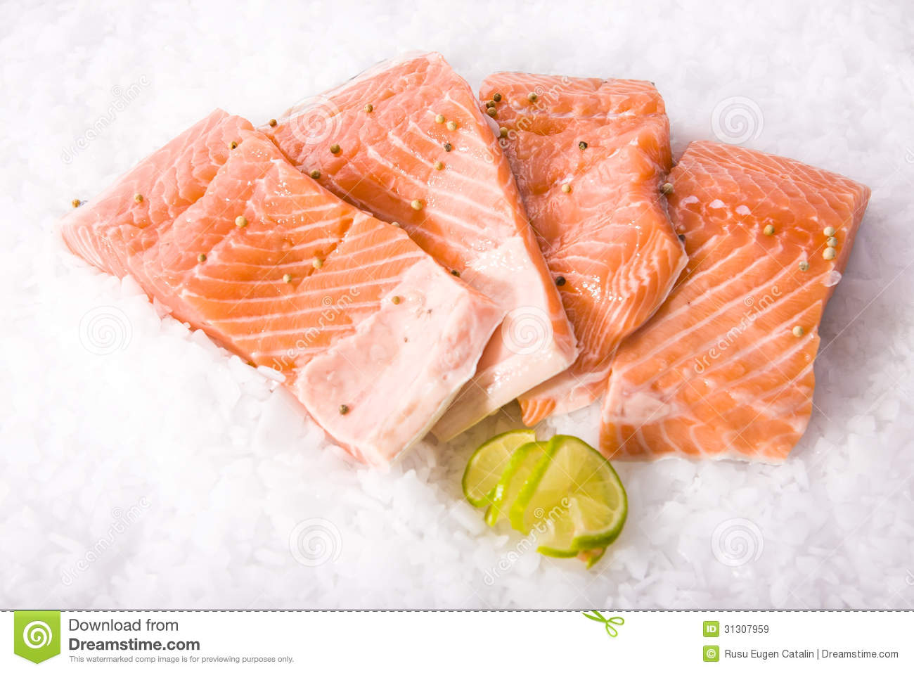 Fresh fish cut pieces royalty free stock images image for Piece of fish