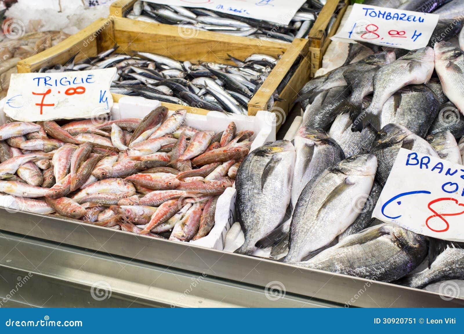 Fresh Fish Stock Image Image 30920751
