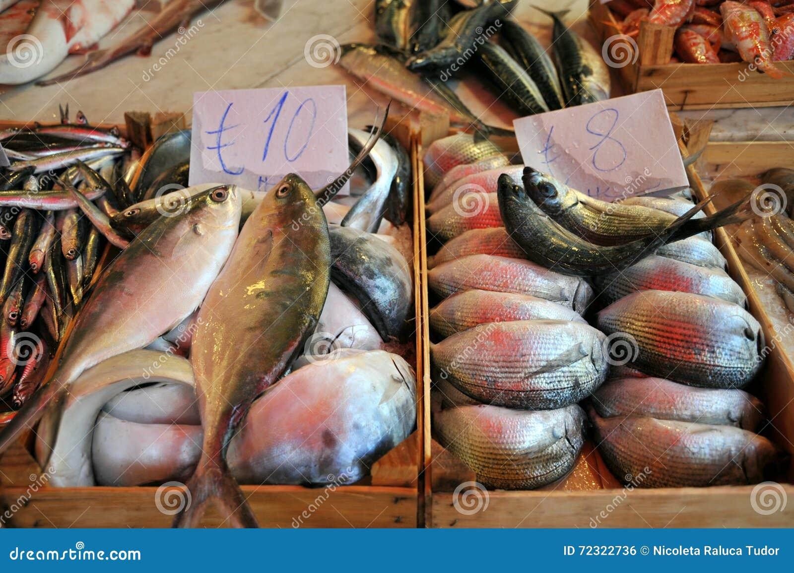 Palermo street market editorial photo for Cherry street fish market