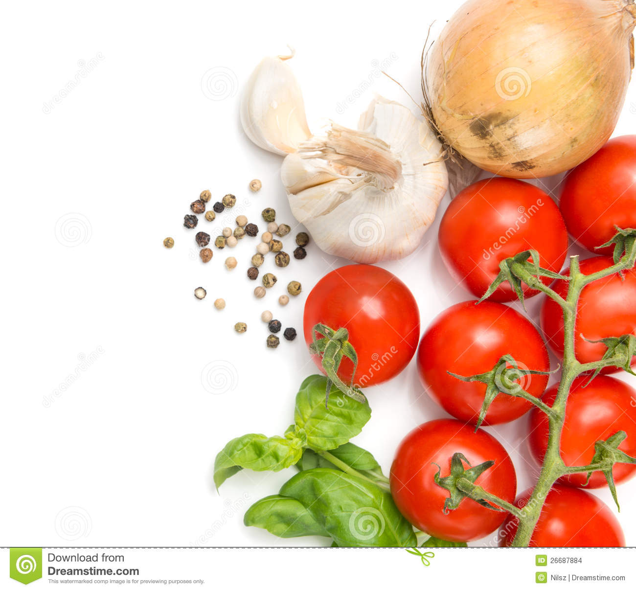 Fresh food ingredients