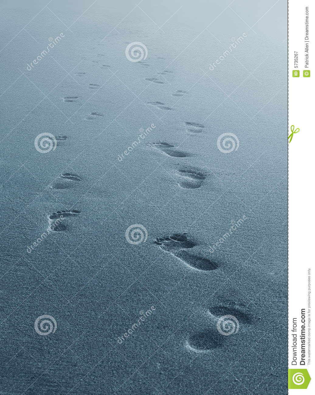 Fresh Footprints Fading