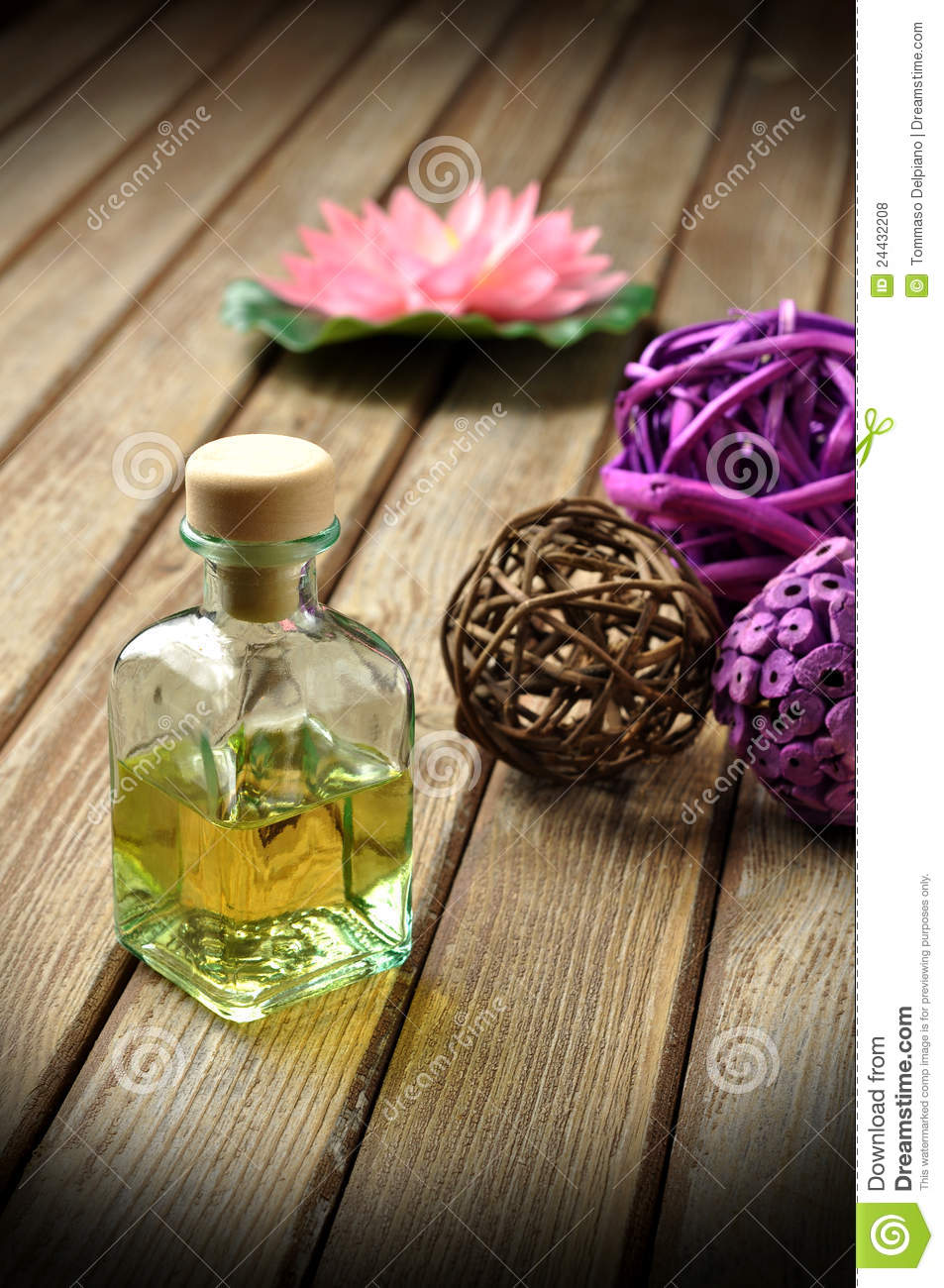 Fresh fragrance stock photo image of lotus smell spring 24432208 fragrances in composition with blurry lotus flower in the background izmirmasajfo