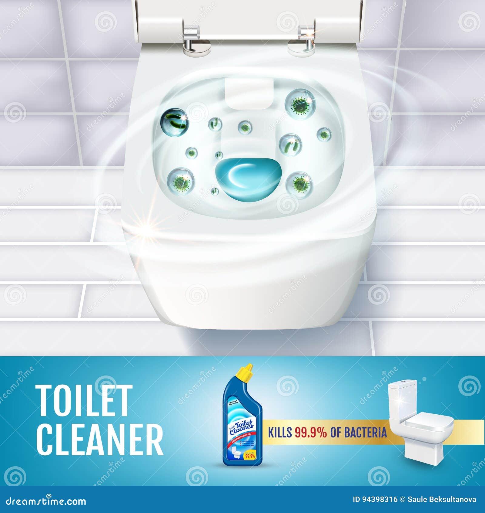 Prime Fresh Fragrance Toilet Cleaner Gel Ads Vector Realistic Pdpeps Interior Chair Design Pdpepsorg