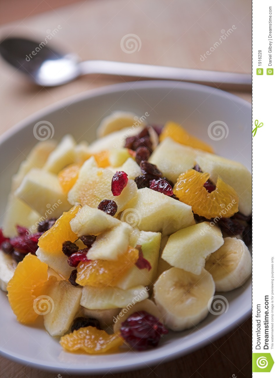 Close up of sliced fruits served for breakfast - shallow depth of ...