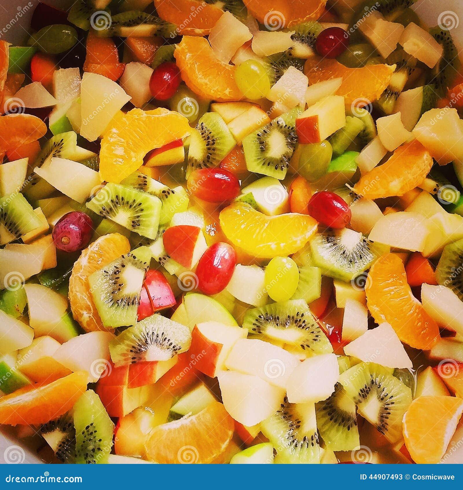 Fresh Fruit Cocktail Stock Photo - Image: 44907493