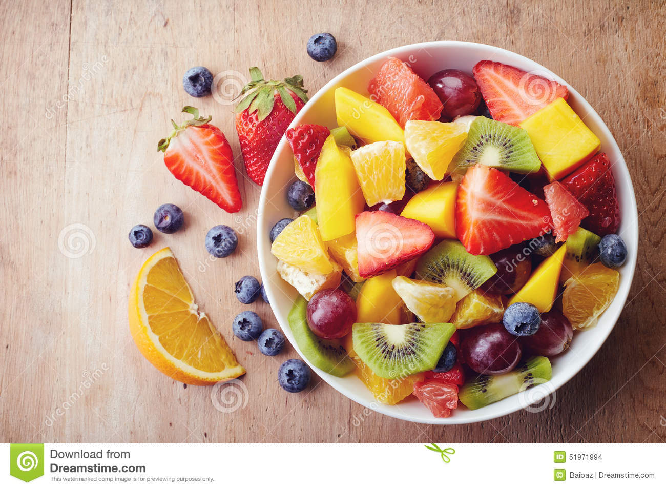fruits with fiber summer fruit salad