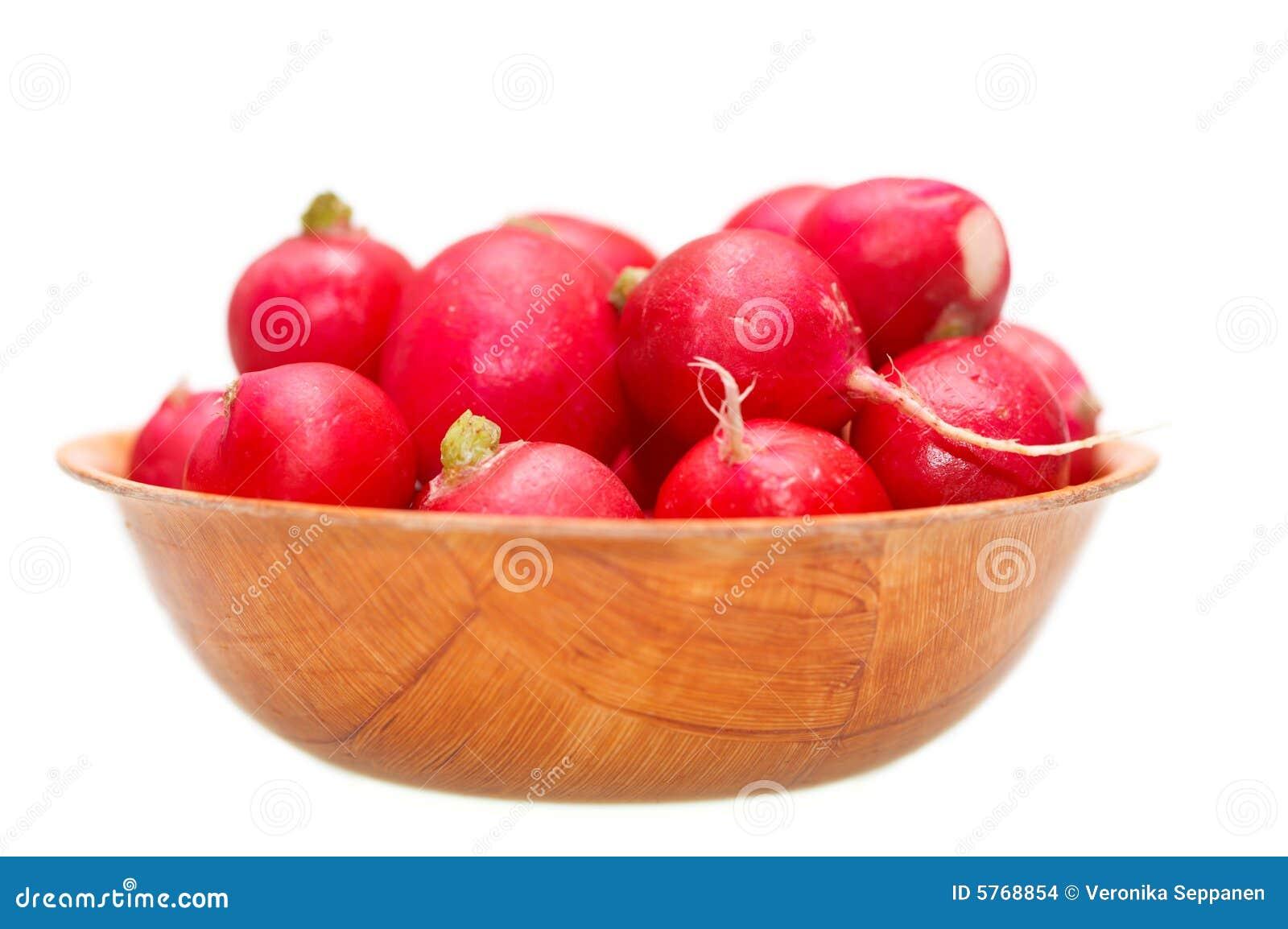 Fresh garden radish