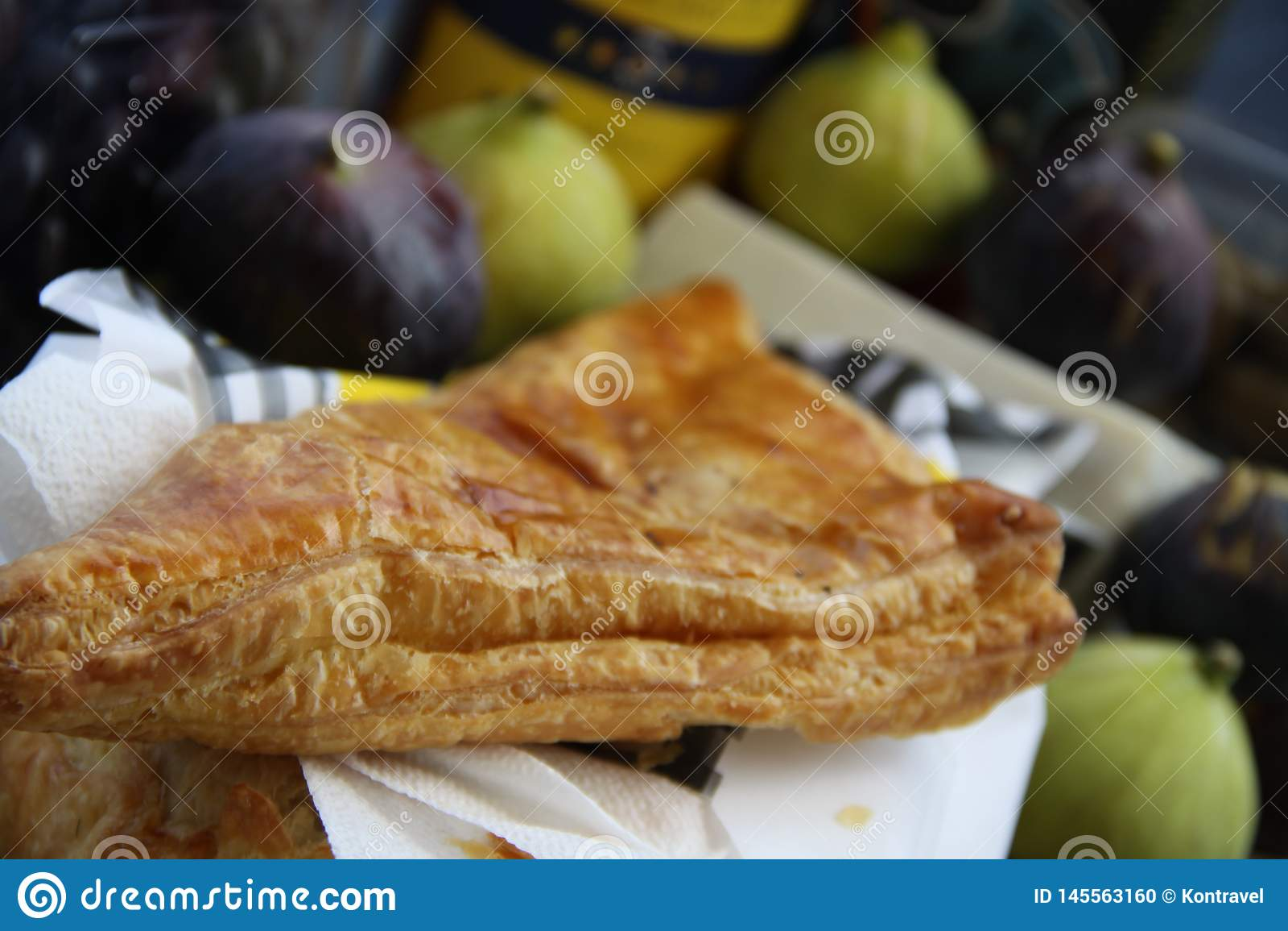 Fresh Greek cheese pie