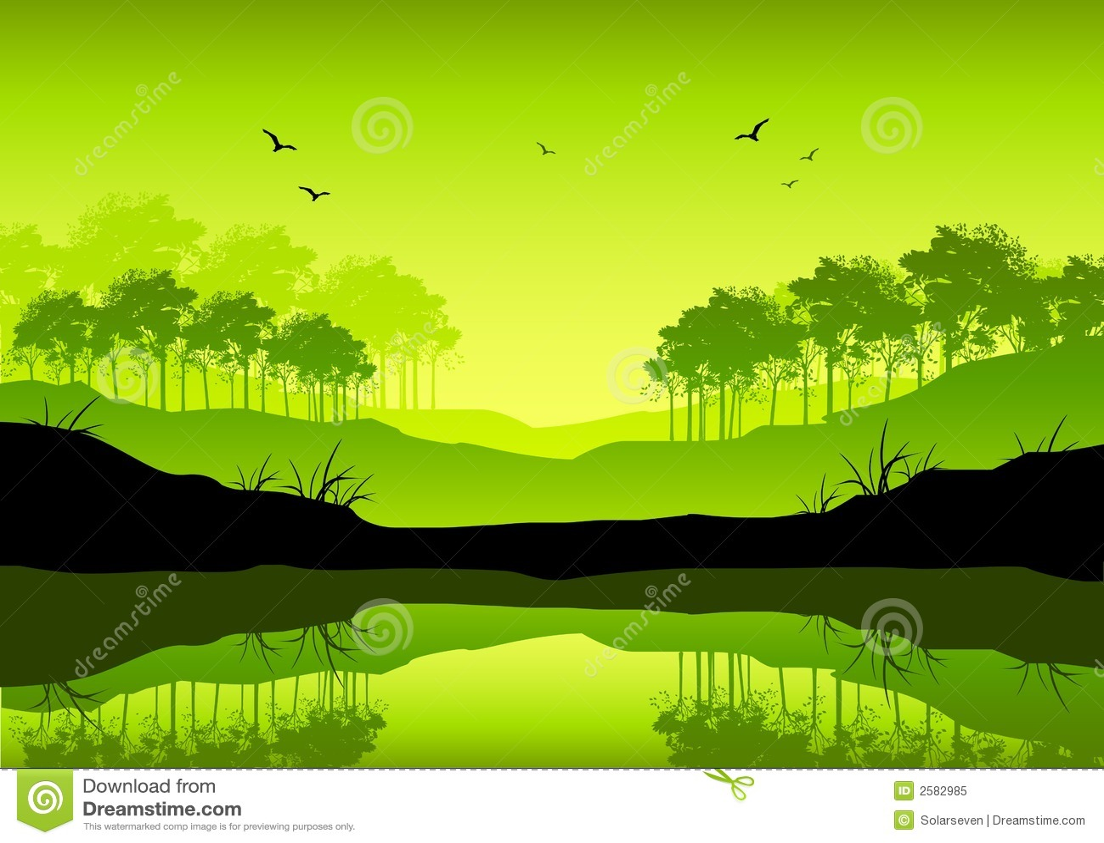 Fresh Green Landscape