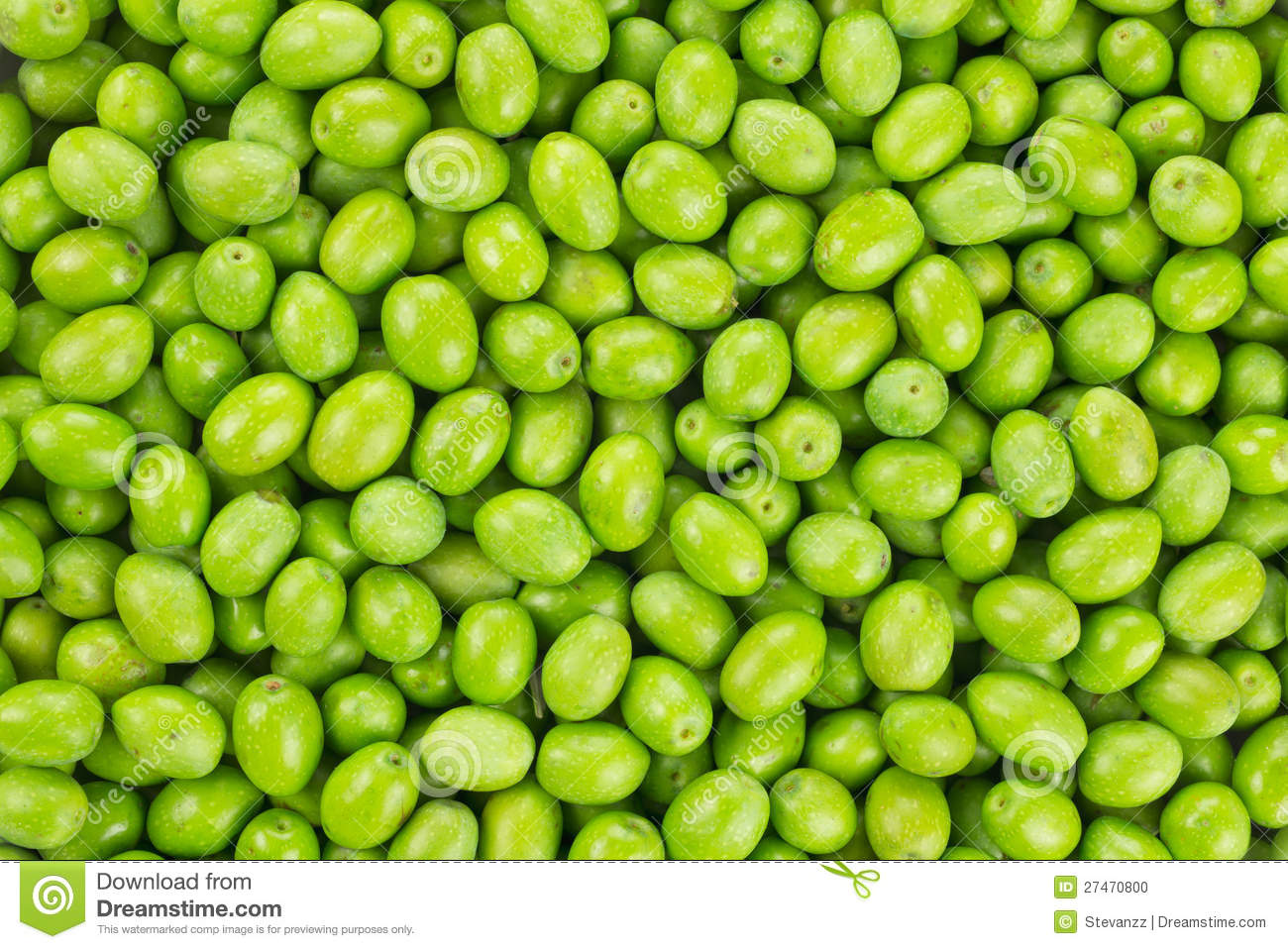 Fresh Harvested Green Olive Pattern Texture Stock Photo ...