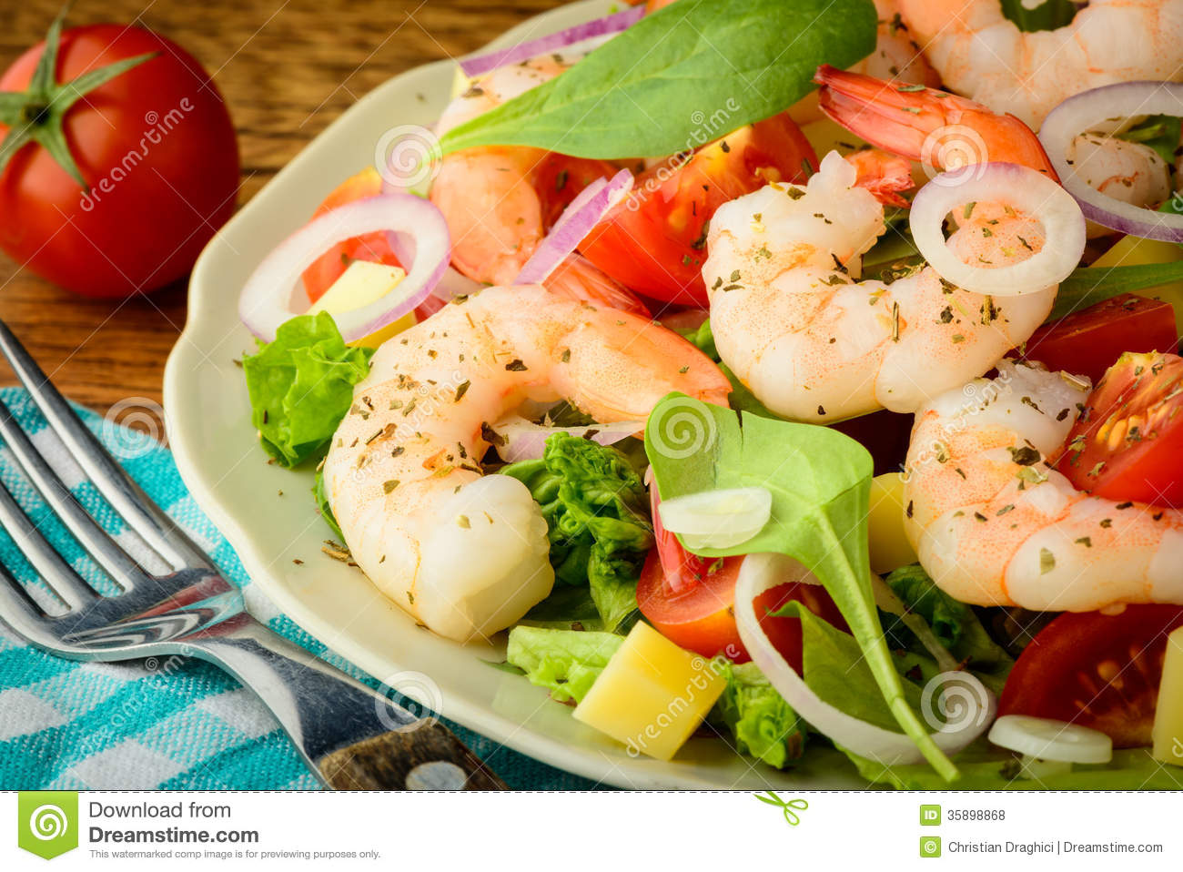 Fresh Shrimp Salad Recipes — Dishmaps