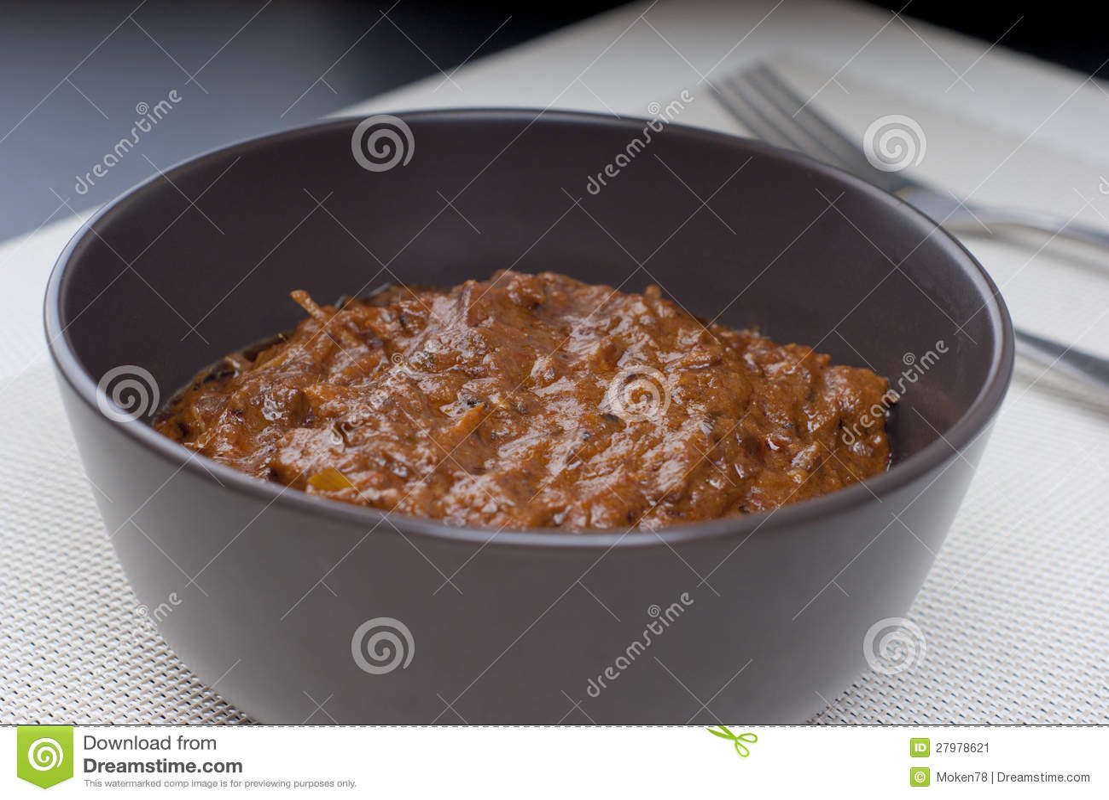 Fresh Hot Spicy Beef Rendang Stock Image - Image: 27978621