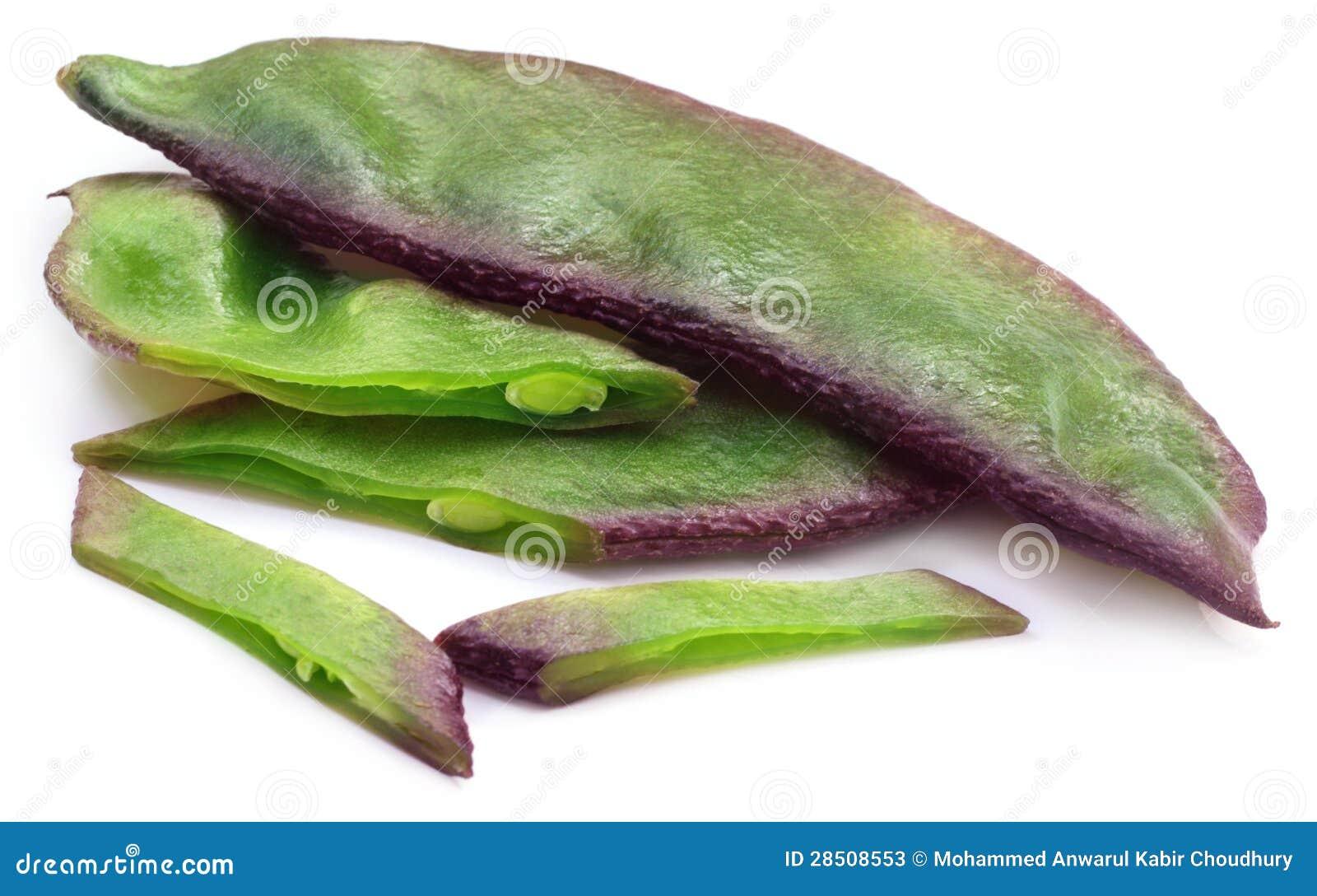 Fresh Hyacinth Bean Or...