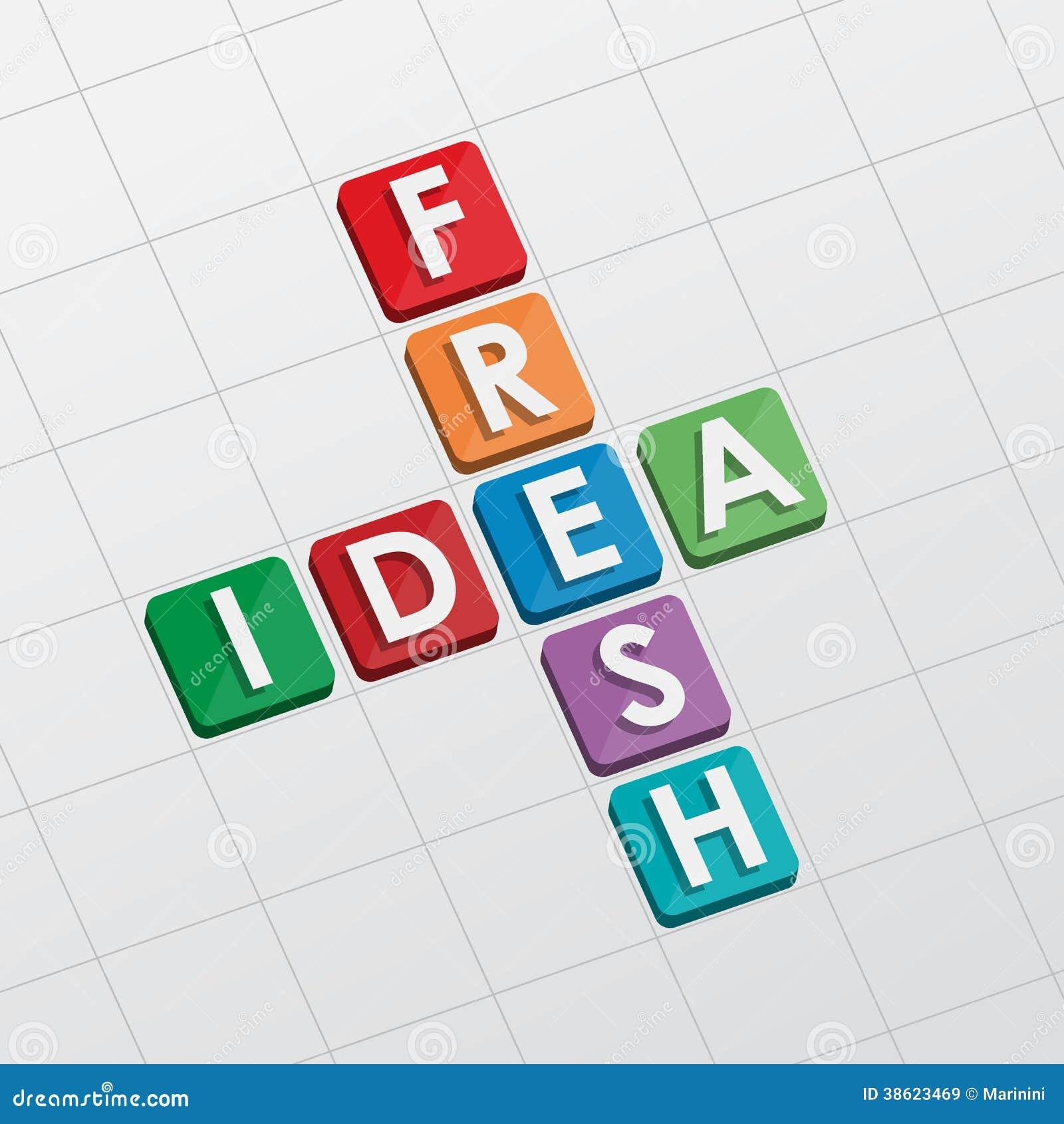 Fresh idea crossword flat design stock image image of develop royalty free stock photo malvernweather Choice Image