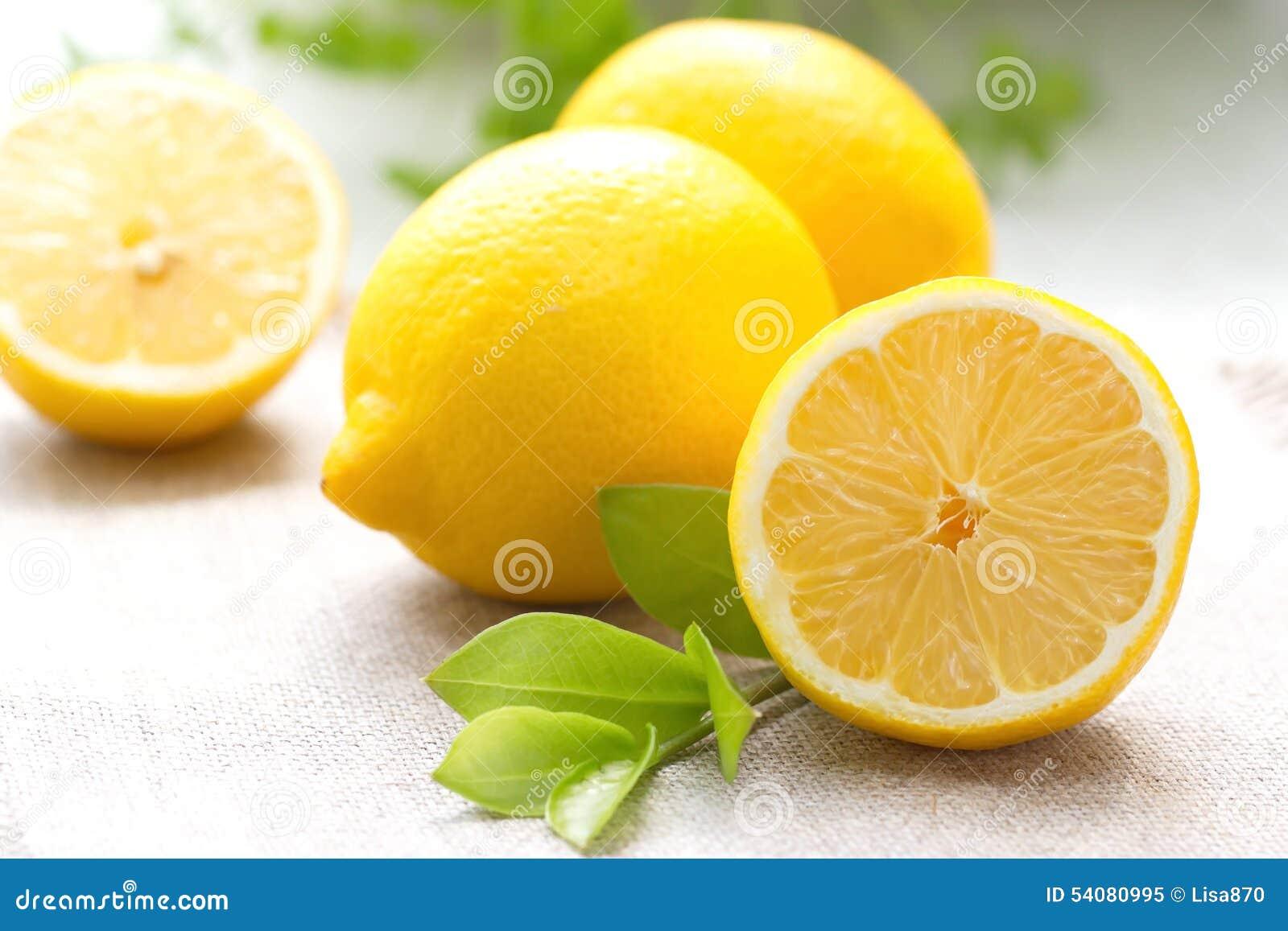 Fresh Lemon Stock Image. Image Of Food, Crust, Vitamin