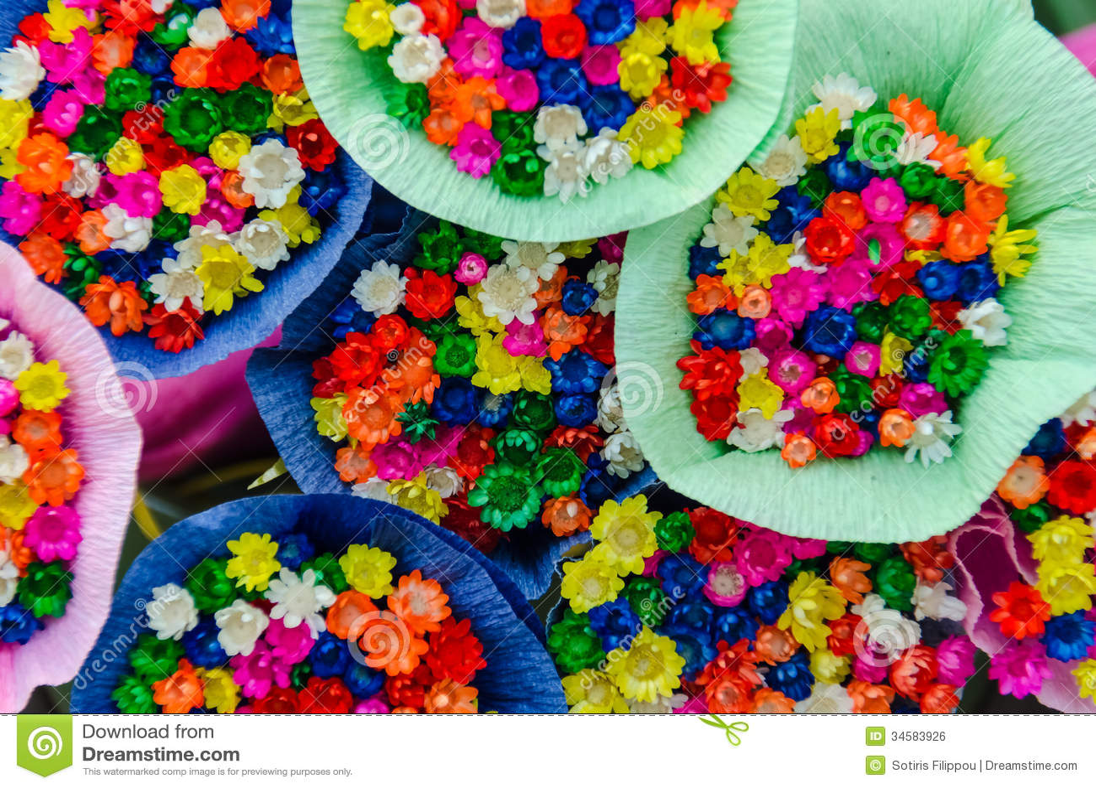 Fresh little flowers stock photo image of arrangement 34583926 fresh little flowers izmirmasajfo Gallery