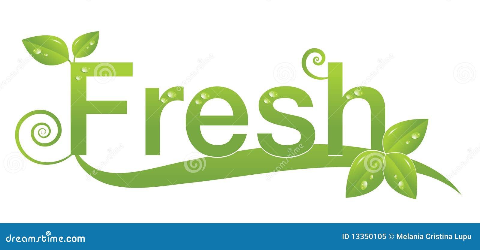 fresh logo design royalty free stock photo image 13350105
