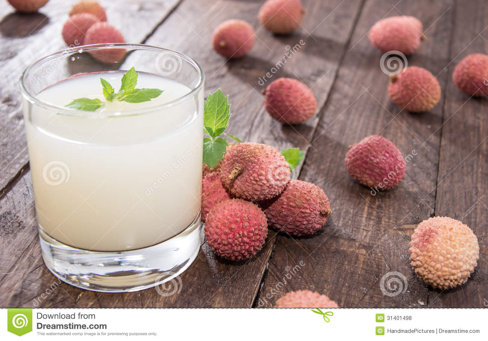 Fresh made Lychee Juice