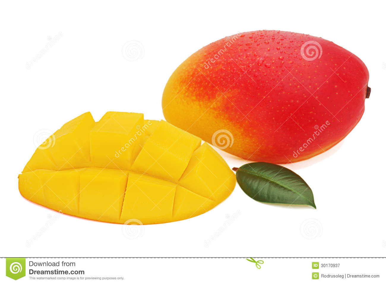 how to cut mango fruit